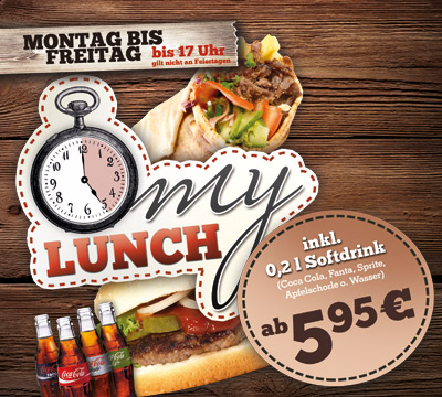 TACOS BONN – MO – FR BIS 17H: MY LUNCH